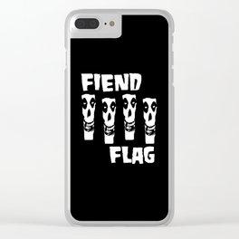 FIEND FLAG Clear iPhone Case