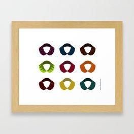 Cols Claudine Framed Art Print