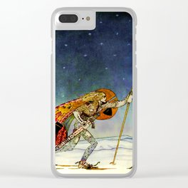 "Kay Nielsen Fairy Tale Art from ""East of the Sun"" Clear iPhone Case"