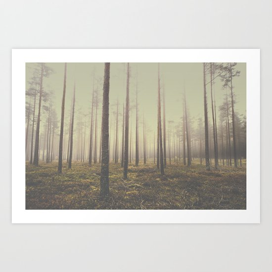 The day we lost Art Print