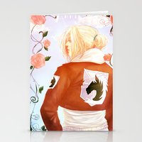 annie hall Stationery Cards featuring Annie by ivori