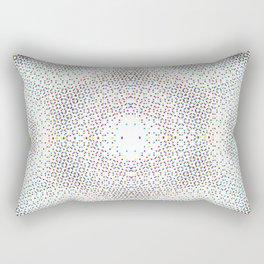 Moire Effect, bitch Rectangular Pillow