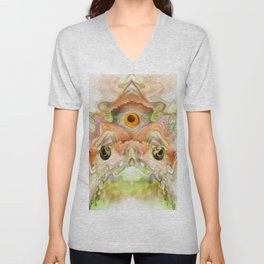 To Kiss a Frog Unisex V-Neck