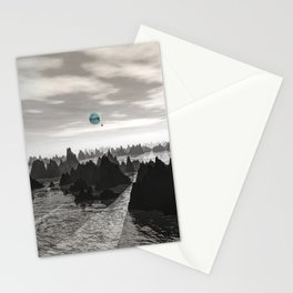Mysterious Blue Orbs Stationery Cards