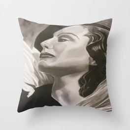 Reflections of a Diva Throw Pillow