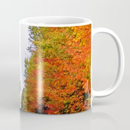 Rolling Through the Hills of Autumn Coffee Mug