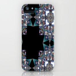 Internal Kaleidoscopic Daze-15 iPhone Case