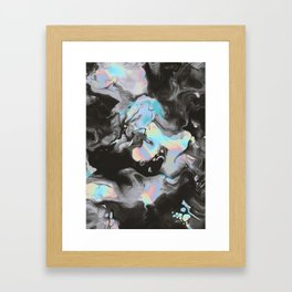 ISN'T IT BORING WHEN I TALK ABOUT MY DREAMS ? Framed Art Print