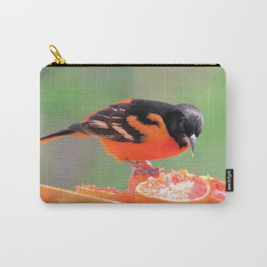 Orange Juice for Breakfast (Baltimore Oriole) Carry-All Pouch