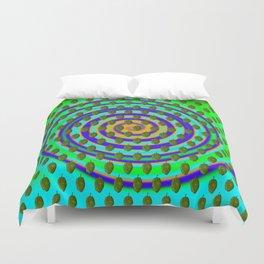 Hops Swirl Pattern Duvet Cover