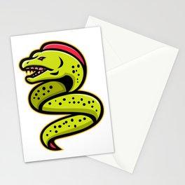 Moray Eel Sports Mascot Stationery Cards