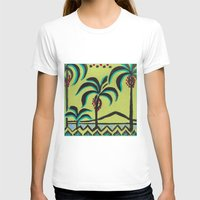 palm trees T-shirts featuring Palm Trees by Abundance