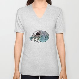 Hermit Crab Unisex V-Neck