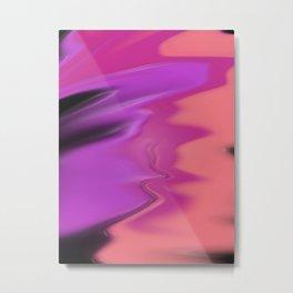 Plastic Texture Study 002 Metal Print