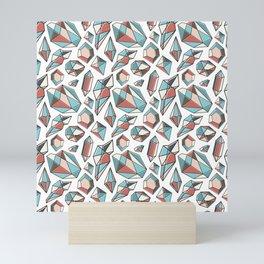 Diamonds are forever Pattern 2 Mini Art Print