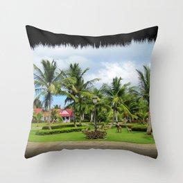 Bachata mood Throw Pillow