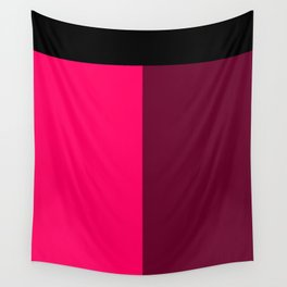 Pink and Red Wall Tapestry