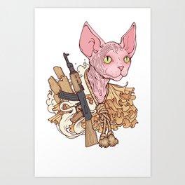 copycat by Chris Bodily Art Print
