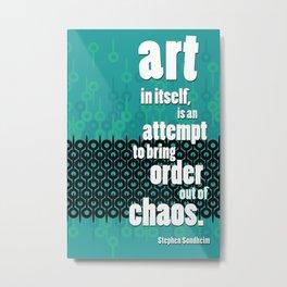 Quote 1 Metal Print