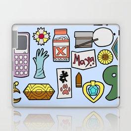 Ace Attorney Inventory Laptop & iPad Skin