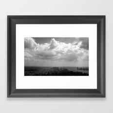 New York City Skycape Framed Art Print