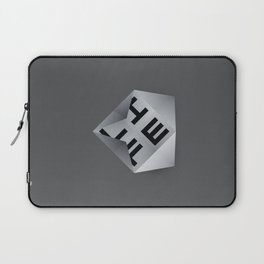 Life Unfolds Itself Laptop Sleeve