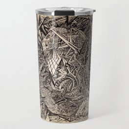Diffracted (Cavern Dweller) Travel Mug
