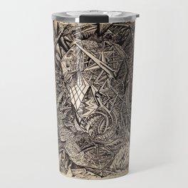 Diffracted (Cavern Dweller) Travel Mug