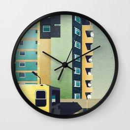 Berlin City Wall Clock