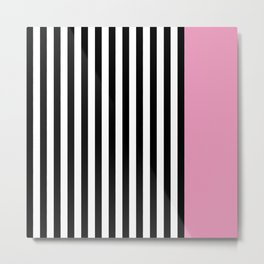 Liquorice allsorts, light pink Metal Print