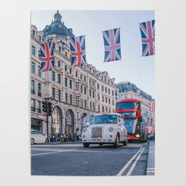 London England Street (Color) Poster