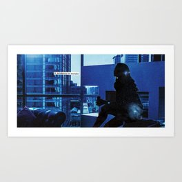 how do you know when to leave and when to stay? Art Print