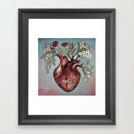 """Your beautiful heart"" Framed Art Print"