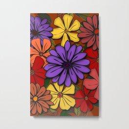 Flower Power! Metal Print