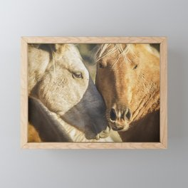 Companions Framed Mini Art Print
