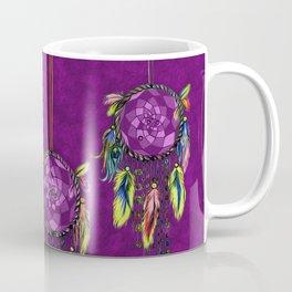 Boho Dreamcatchers , Purple Coffee Mug