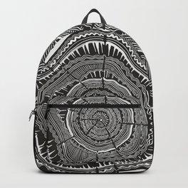 Growth Rings – 65 Years – Black Backpack