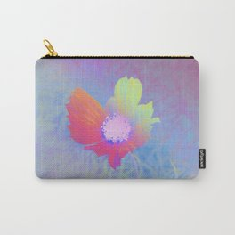 Holographic Flower Photography Carry-All Pouch