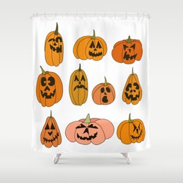 Jacks of all shapes and sizes Shower Curtain
