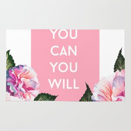 You Can & You Will Rug