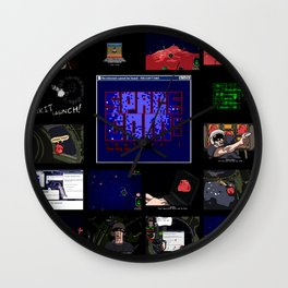 The Big Gib: SpaceCom Chapter 1 - Game Art Wall Clock