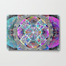 Kaleidoscope of The Four Directions Metal Print