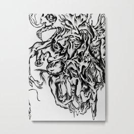 Gluttony & Wrath Metal Print