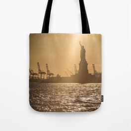"""Lady Liberty 2"" by Murray Bolesta Tote Bag"