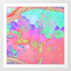 Colour mixer VI Art Print