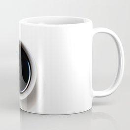 Black Coffee (Black and White) Coffee Mug