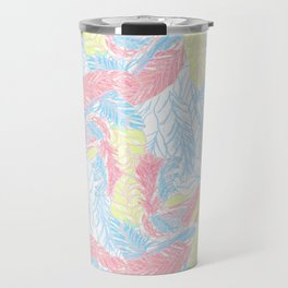 Light feathers Travel Mug