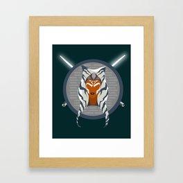 Rebel Leader Framed Art Print