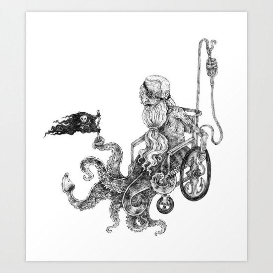 old sailor Art Print