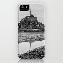 Mont-Saint-Michel iPhone Case